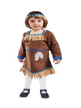 disfraz de india para bebe