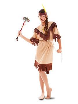 disfraz de india totem para mujer