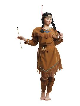 disfraz de india velvet para mujer