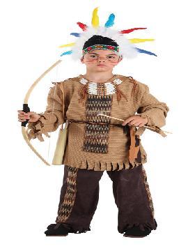 disfraz de indio gran apache niño