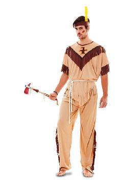 disfraz de indio totem para hombre