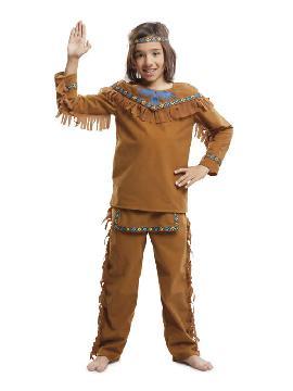 disfraz de indio velvet para niño