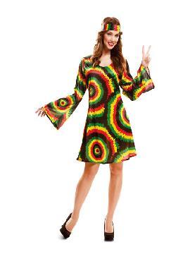 disfraz de jamaicana o hippie para mujer