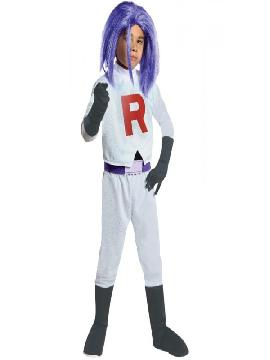 disfraz de james team rocket para niño