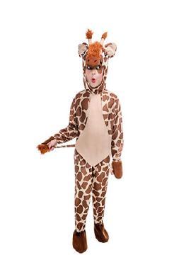 disfraz de jirafa infantil. Te hará sentir el animal más alto de África. Luce tus manchas divertidas en fiestas temáticas o fin de curso. Este disfraz es ideal para tus fiestas temáticas de animales para infantil