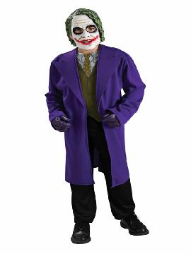 disfraz de joker classic para niño