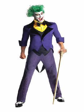 disfraz de joker dc comics para hombre