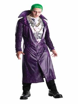 disfraz de joker suicide squad hombre