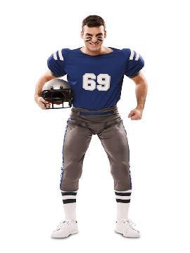 disfraz de jugador futbol americano hombre