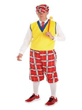 disfraz de jugador golf para hombre
