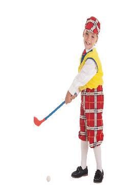 disfraz de jugador golf para niño