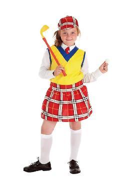 disfraz de jugadora golf para niña