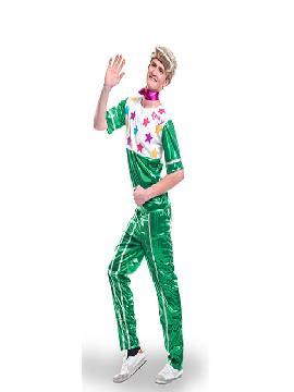 disfraz de ken barbie hombre adulto. Sera el autentico Ken novio de Barbie, en tus fiestas de disfraces,para bailar sin parar para ser el más original. Este disfraz es ideal para tus fiestas temáticas de disfraces hippies Años 60,70 y 80 para hombre adultos