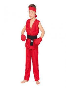 disfraz de ken street fighter barato niño