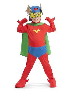disfraz de kid fury superzings para niño