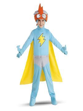 disfraz de kid kazoom superzings para niño