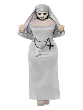 disfraz de la monja gotica sexy para mujer