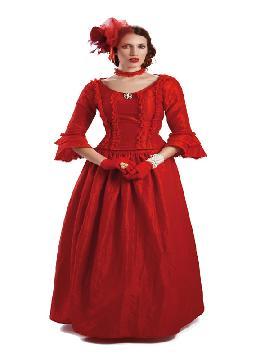 disfraz de lady divina de epoca mujer