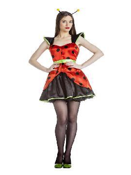 disfraz de ladybird para mujer