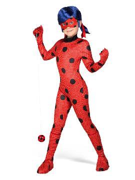 disfraz de ladybug classic para niña