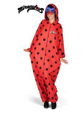 disfraz de ladybug pijama para mujer