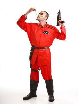 disfraz de lagarto v soldado hombre adulto