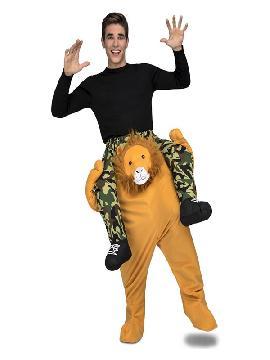 disfraz de leon a hombros para adultos