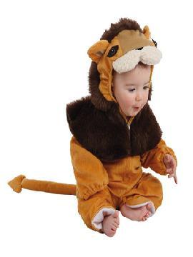disfraz de leon bebe varias tallas. Es ideal para vestir al más pequeño de la familia con un traje calentito y muy cómodo. Lo pasará en grande en sus Fiestas de la Guardería, Carnaval o Fiestas Temáticas. Este disfraz es ideal para tus fiestas temáticas de disfraces de animales para bebes.