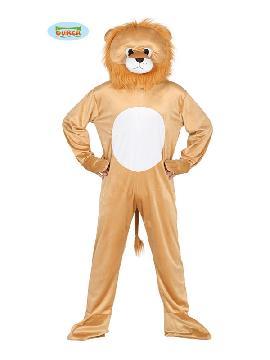 disfraz de leon con cabeza para hombre