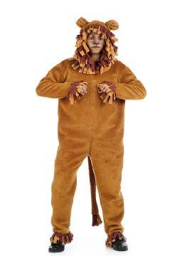 disfraz de leon cuento adulto