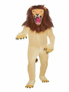 disfraz de leon deluxe para hombre