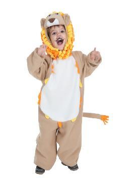 disfraz de leon divertido para niño