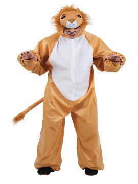 Disfraz de león infantil. Compra tu disfraz barato y podrás montar tu propia selva de animales sin salirte de casa, en fiestas temáticas y fin de curso.
