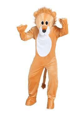 disfraz de leon mascota gigante para adulto