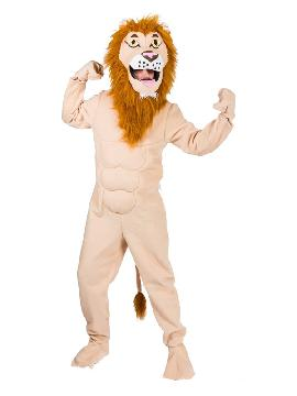 disfraz de leon rey de la selva para adulto