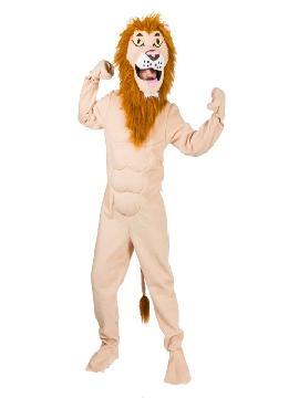disfraz de leon salvaje adulto
