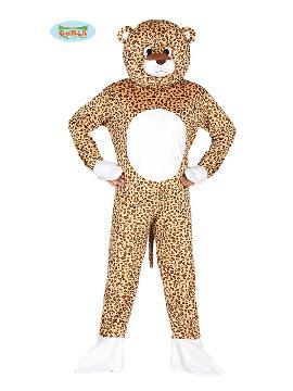disfraz de leopardo con cabeza hombre