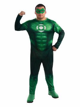 disfraz de linterna verde hombre talla grande