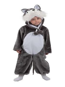 disfraz de lobo gris bebe