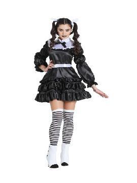 disfraz de lolita gotica mujer