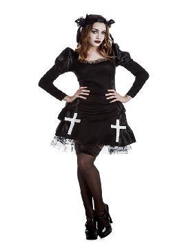 disfraz de lolita gótica para mujer