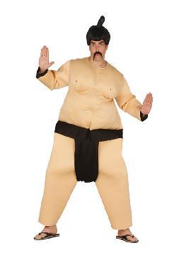 disfraz de luchador de sumo hombre