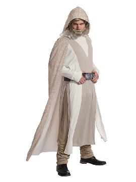 disfraz de luke skywalker star wars deluxe hombre