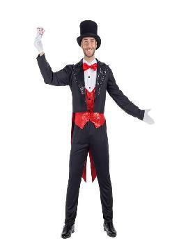 disfraz de mago lujo para hombre