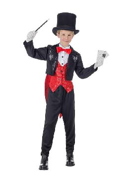 disfraz de mago lujo para niño