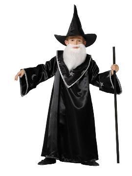 Disfraz de mago merlín niño. Es perfecto para que puedas hacer mil brujerías y trucos en tus Fiestas Temáticas y halloween. Este disfraz es ideal para tus fiestas temáticas de terror y miedo para infantiles. fabricacion nacional