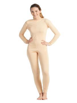 disfraz de maillot o mono carne mujer k5849