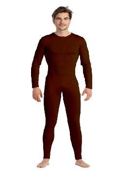 disfraz de maillot o mono marron hombre
