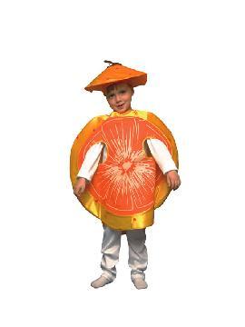 disfraz de mandarian barata infantil. Compra tu disfraz barato y es especiales para poder realizar un macedonia de frutas tan ricas como ésta. También este disfraz es perfecto para las fiestas de fin de curso u obras de teatro infantiles.