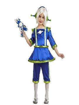 disfraz de marcianita para niña